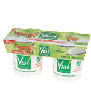 Vrai Yogur natural cabra Pack de 2x125 g