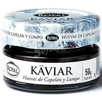 Royal Huevas de islandia de lumpus y capelan tarro 50 gr Tarro 50 gr