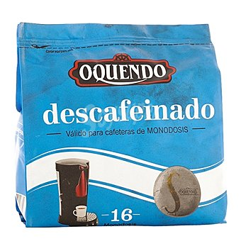 Oquendo Café descafeinado monodosis 16 ud