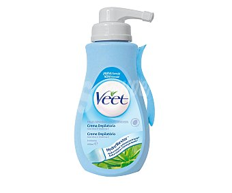 Veet Crema depilatoria piel sensible 400 ml