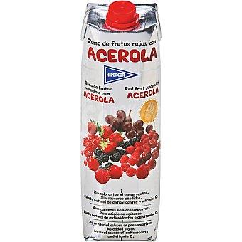 Hipercor Zumo de frutos rojos con acerola envase 1