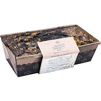 EL CORTE INGLES Bizcocho doble chocolate pieza  250 g