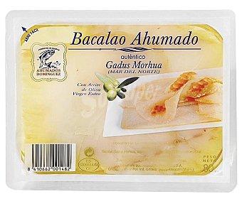 Ahumados Domínguez Bacalao ahumado con aceite de oliva virgen extra 80 gramos