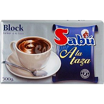 Viso Chocolate sin leche a la taza tableta 500 g