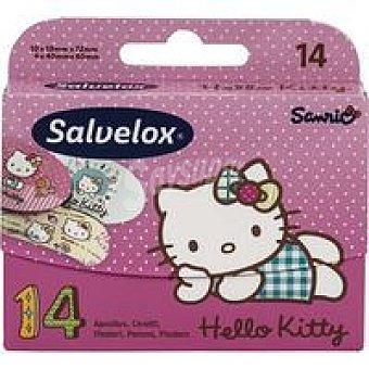 Salvelox Apósitos Hello Kitty Caja 14 unid