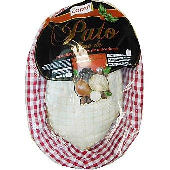 Coren Pato relleno de castañas y nueces de macadamia Bandeja 2,5 kg
