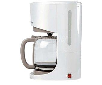 QILIVE CM 4272 Cafetera de goteo Blanco, con jarra de cristal, capacidad para 12 tazas,