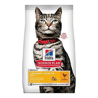 Hill's Science plan urinary sterilised pienso especial para gatos adultos +1 año esterilizados para el control urinario con sabor a pollo Bolsa 1,5 kg