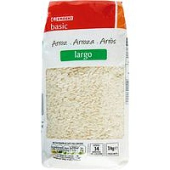 Eroski Basic Arroz largo Paquete 1 kg