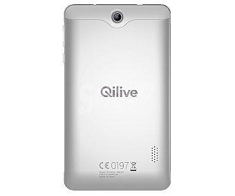 Qilive Tablet 7'' Q6, blanco, Quad-Core, 1GB Ram, 16GB, microsd, cámara frontal y trasera, Android 5.1 blanco, Quad-Core, 1GB Ram, 16GB, microsd, cámara frontal y trasera, Android 5.1