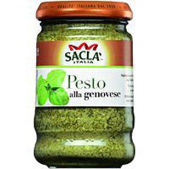 Sacla Salsa pesto genovese frasco 190 g