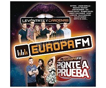 Recopilatorios Doble disco Cd Europa Fm 2016, Levántate y Cárdenas y Ponte a Prueba. Género: recopilatorios. Lanzamiento: Abril de 2015 2016 2Cds