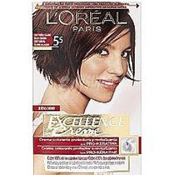 Excellence L'Oréal Paris Tinte castaño rojo N.5.5  Caja 1 unid