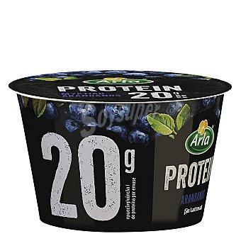 Arla Yogur con queso fresco batido (quark), sin lactosa y con sabor a arándanos protein 200 g