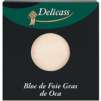 Delicass Bloc de foie gras de oca envase 40 g Envase 40 g