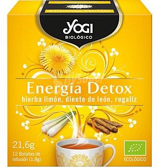 Yogi Tea Infusión yogi eco energía detox 12 unidades