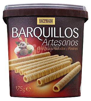 Hacendado Barquillo neula tubo artesano para helado Caja 175 g