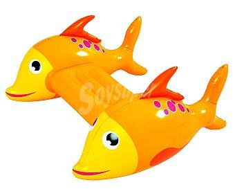 Euraspa Tabla de natación hinchable con tiburones laterales, EURASPA.