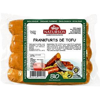 NATURSOY Frankfurt Salchichas de tofu ecológicas Envase 200 g