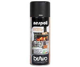 Bravo Pintura en Spray, Color Blanco, Resistente a Altas Temperaturas 400 Mililitros