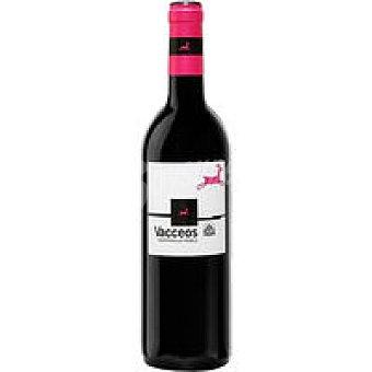 Vacceos Vino Tinto Joven Botella 75 cl