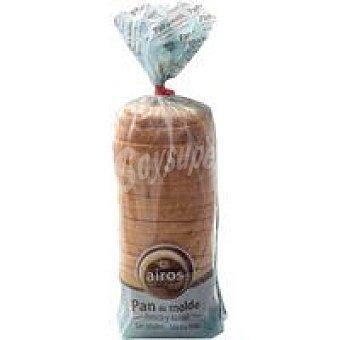 Airos Pan de molde fresco sin gluten Paquete 390 g