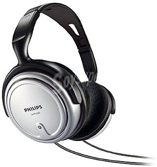 Philips Auriculares tipo TV SHP1800 160 Gramos