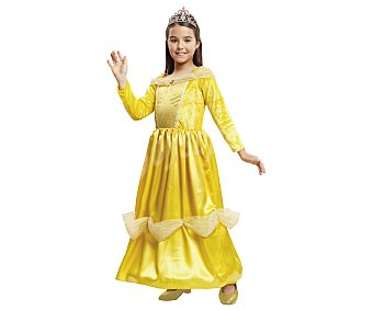 My other me Disfraz infantil Princesa Bella, 5-6 años, ME.