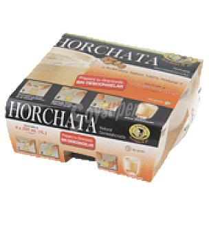 Horchata Panach Horchata congelada xufa go Pack de 4x110 ml