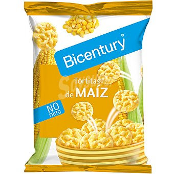 Bicentury Tortitas de maiz no frito unidad 25 g Unidad 25 g