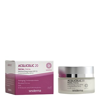 ACGLICOLIC Classic Crema facial hidratante antienvejecimiento 50 Mililitros