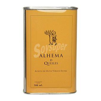 Alhema de queiles Aceite de oliva virgen extra ecológico Lata 500 ml