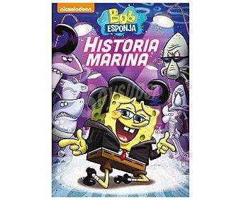 Nickelodeon Bob Esponja: Historia marina, 2017, película en Dvd. Género: Animación, infantil, aventuras. Edad: + 6 años