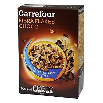 Carrefour Cereales con fibra sabor chocolate 500 g