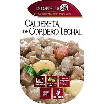 La Torralba Caldereta de cordero lechal Envase 250 g