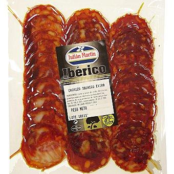 Julian martin Chorizo ibérico de cebo en lonchas Envase 75 g