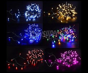Actuel Guirnalda de enchufe de 150 luces led, de 9,6 metros, con 9 funciones, ACTUEL.