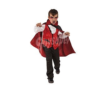 HAUNTED HOUSE Disfraz infantil vampiro Conde Drácula, talla 1-2 años, Halloween Conde Drácula 1-2 años