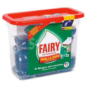 Fairy Detergente ropa 15 Capsulas