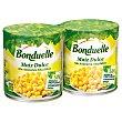 Maíz dulce Pack de 2 latas de 140 g Bonduelle