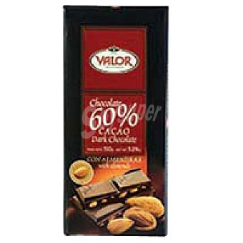 Valor Chocolate 60% con almendras Tableta 150 g