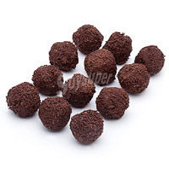 Trufa de chocolate negro Bandeja 200 g