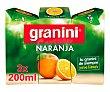 Néctar de naranja Pack 3 uds x 20 cl Granini