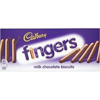 Cadbury Galleta Milk Choco Finger Caja 114 g