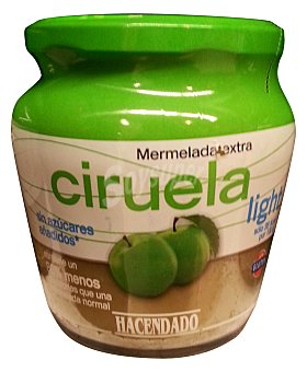 Hacendado Mermelada ciruela light Tarro 380 g