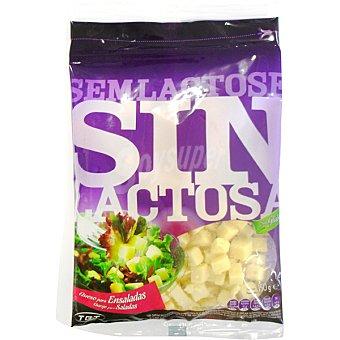 Lafuente Cubos de queso para ensaladas sin lactosa Bolsa 150 g