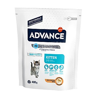 Advance Affinity Pienso para gatos cachorros de pollo y arroz Bolsa 400 g
