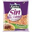 Queso emmental rallado sin lactosa Bolsa 100 g Kaiku Sin Lactosa