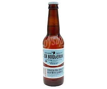 ER BOQUERÓN Cerveza artesanal elaborada con agua de mar Botella 33 cl