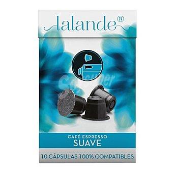 Lalande Café Espresso suave cápsula 10 ud